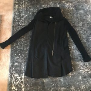 Helmet Lang black wool jacket